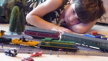 Железные дороги для детей H0