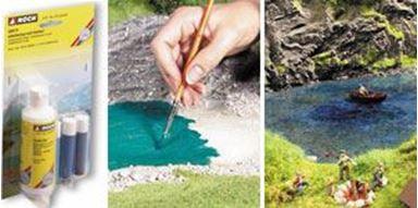 NOCH 60875 — Модельная вода (100 мл) и краски (3×10 мл), 1:10—1:1000
