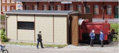 AUHAGEN 11429 — Ангар для дизельных мини-локомотивов, H0