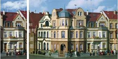 KIBRI 39101 — Дом с эркером в Бонне, 1:87