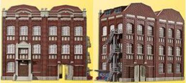 KIBRI 39848 — Здание предприятия с машинным залом и офисными помещениями, H0