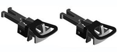 LILIPUT 939100 — Сцепки накидные со стандартной NEM шахтой (2 шт.), H0