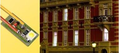 VIESSMANN 6007 — Освещение зданий (тёплый жёлтый цвет) (10 шт.)