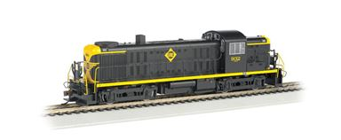 BACHMANN 63904 — Тепловоз Alco RS-3 (звук) чёрно-жёлтый (#932), H0, III, Erie, DCC