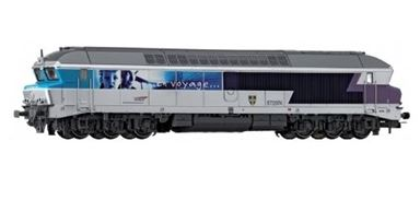 JOUEF HJ 2059 — Дизельный локомотив CC 72074, H0, V, SNCF