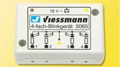 VIESSMANN 5065 — Реле для путевых сигналов (на 4 шт.)