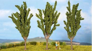 NOCH 25140 — Тополя (3 дерева) ~120мм, 1:87—1:120