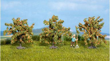 NOCH 25114 — Апельсиновые деревья (~40мм, 3 шт.), 1:72—1:160