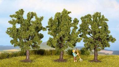 NOCH 25110 — Фруктовые деревья (3 шт., ~80мм), 1:72—1:120