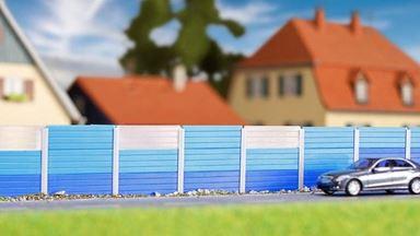 KIBRI 38623 — Забор для шумоизоляции (~1060мм), 1:87