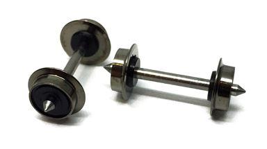 ROCO 40189 — Колесная пара Ø7,5мм (изолированная) 2 шт., H0