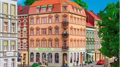 AUHAGEN 11447 — Угловой дом «Schmidtstraße 10», 1:87