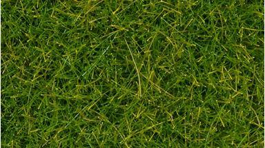 NOCH 07097 — Трава светло-зелёная (флок ~12мм, ~80 г), 1:35–1:100