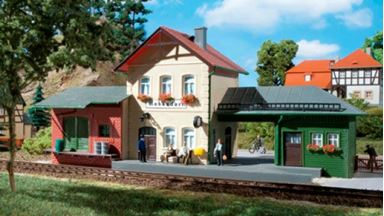 AUHAGEN 11331 — Вокзал «Hohendorf», 1:87