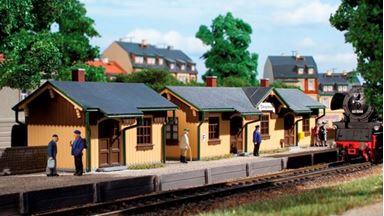 AUHAGEN 11358 — Станция «Obergittersee» с багажным складом, 1:87