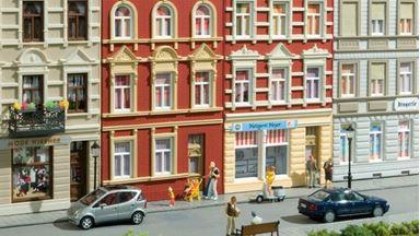 AUHAGEN 11417 — Два городских дома «Schmidtstraße 27/29», 1:87