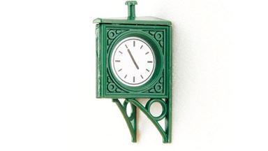 AUHAGEN 41203 — Вокзальные часы (3 шт.), 1:87
