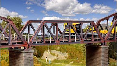 KIBRI 39701 — Мост стальной однопутный, 1:87