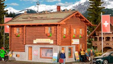 KIBRI 38021 — Туристический офис в Давосе, H0