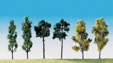 FALLER 181488 — Деревья ~60мм (6 шт.), 1:72—1:200