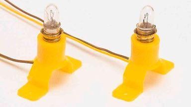 BUSCH 4280 — 2 лампы со стойками. 0-G-H0-N-TT-Z