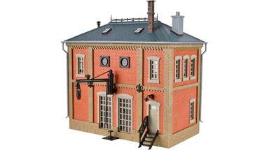 VOLLMER 45708 — Здание для заправки водой паровозов, 1:87