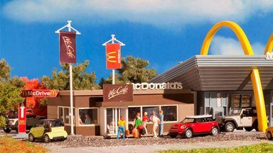 VOLLMER 43636 — Задание McCafe закусочной McDonalds, 1:87