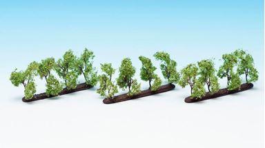 NOCH 21530 — Плодовые деревья ~35мм (12 шт.), 1:72—1:120