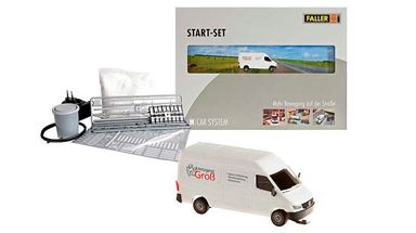 FALLER 161504 — Стартовый набор Faller Car System «MB Sprinter», H0, 1986—2006