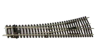 PIKO 55220 — Стрелка левая WL 239,07мм R=907,97мм 15°, H0