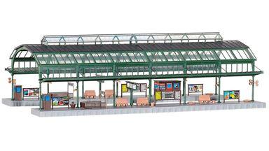 KIBRI 39565 — Платформы вокзала «BONN» под навесом, 1:87