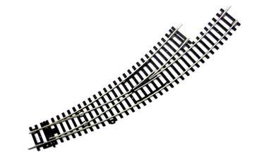 PIKO 55222 — Стрелка левая радиусная BWL (для R2 и R3) 30°, H0