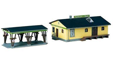 AUHAGEN 11374 — Комплекс по продаже строительных материалов «Raiffeisen-Markt», 1:87