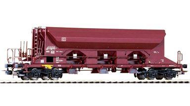 PIKO 54341 — Открытый 3-х секционный вагон-хопер Facns133, H0, V, DB AG