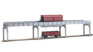 PIKO 61122 — Эстакада для разгрузки или перегрузки угля, 1:87