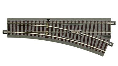 ROCO 61141 — Стрелка правая WR 22,5° на призме, H0, geoLINE