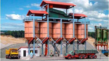 KIBRI 39805 — Гравийный завод в карьере, 1:87