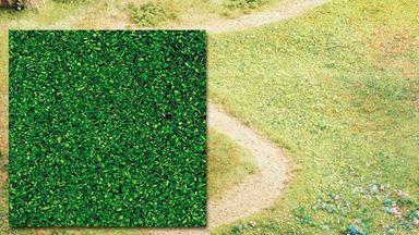 BUSCH 7302 — Присыпка зеленая (~80 гр.), 1:43—1:220