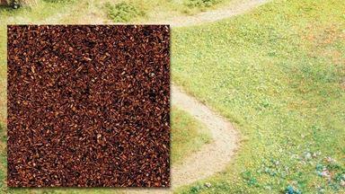 BUSCH 7308 — Присыпка коричневая (~80 гр.), 1:35—1:220