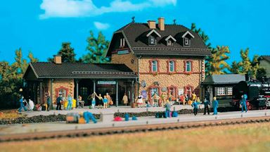 VOLLMER 43520 — Вокзал «Benediktbeuern», 1:87