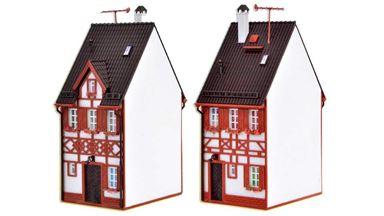 VOLLMER 43673 — Жилой дом «Bahnhofstraße 17», 1:87