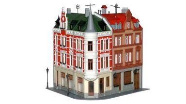 KIBRI 38294 — Угловой дом «Sternplatz», 1:87