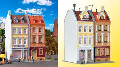 KIBRI 38383 — Многоквартирный жилой дом с магазинами, 1:87