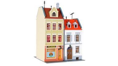 KIBRI 38384 — Многоквартирный жилой дом, 1:87