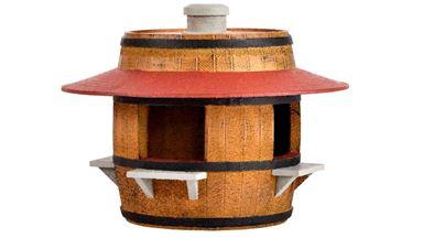 KIBRI 38673 — Киоск по продаже разливного пива и вина, 1:87
