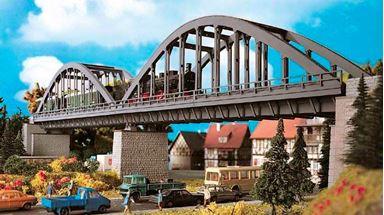 VOLLMER 42553 — Однопутный железнодорожный арочный мост, 1:87