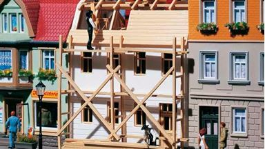 AUHAGEN 12270 — Строящийся дом, 1:87—1:120