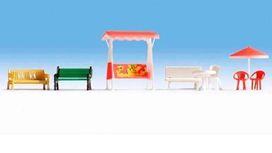 NOCH 14813 — Садовая и уличная мебель для отдыха, 1:87