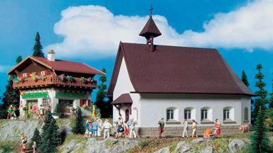 VOLLMER 43710 — Католическая церковь (кирха), 1:87
