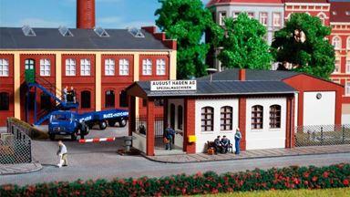 AUHAGEN 11434 — Проходная завода «August Hagen AG», 1:87